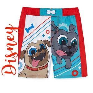 Disney Puppy Dog Pals Swim Trunks Boys
